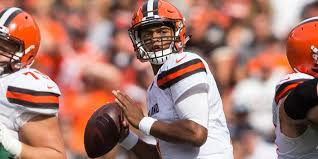 Cleveland Browns Flag Browns Go Back To Deshone Kizer As Starting Qb
