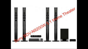 sony home theater with bluetooth sony bdv n9200w 5 1 home theater complete review youtube