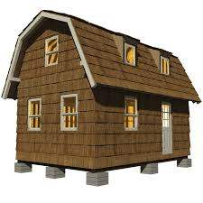 gambrel roof tiny house plans arts gambrel roof plans swawou