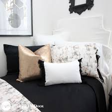 Gold Bed Set Marble Black Gold Bedding Set