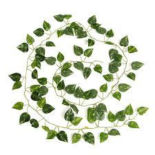 2m artificial ivy leaf garland plants vine fake foliage flowers