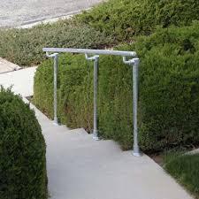 outdoor stair railing kit buy step handrail online simplified