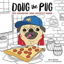 amazon doug pug coloring activity book