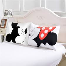 mickey mouse s day mickey mouse bedding pillow s day gifts for him or