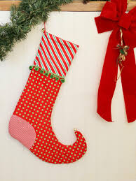 Decoration For Christmas Handmade by 22 Christmas Stocking Patterns For Free Diy