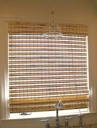 Kitchen Window Treatments by Bedroom Mesmerizing Graber Window Treatment Natural Bamboo Blind