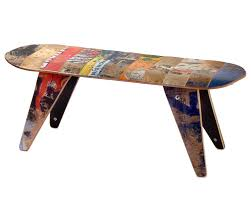 skateboard home design cool recycled material patio furniture home design very nice