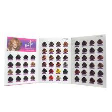 64 colors professional salon hair color chart