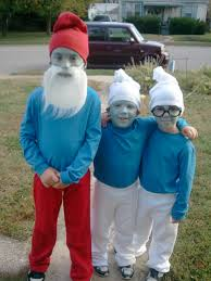 cutest kids halloween costumes home made smurf costumes the cutest sweetest kids ever wearing