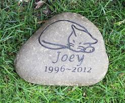 pet memorial garden stones personalized cat pet memorial garden pet grave marker
