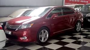 lexus hs 250h options dnt oto ban lexus hs250h xang dien hybrid full option 2010 dangky