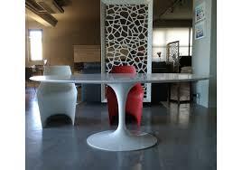 tavolo ovale legno saarinen tavolo ovale in legno knoll milia shop