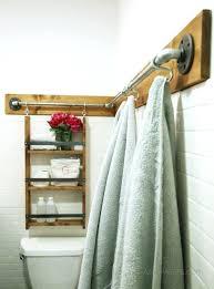 wooden bathroom towel holder best pallet towel rack ideas on