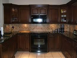 kitchen backsplash ideas with dark cabinets kitchen backsplash ideas for dark cabinets intended for residence