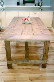 Easy Wood Coffee Table Plans by Ana White Farmhouse Table Updated Pocket Hole Plans Diy Projects