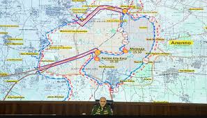 Map Of Russia And Syria by The Uneasy Mix Of Forces That Are Toppling The Islamic State