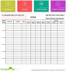 testing daily status report template daily status report template excel daily production status report