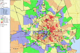 Dallas County Zip Code Map by Census Tracts Neighborhood Demographics Fast Growth Economic