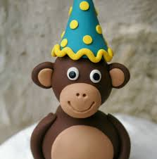 monkey cake topper mod monkey party birthday cake toppers flickr