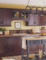 Staining Kitchen Cabinets Darker by Best 25 Red Cabinets Ideas On Pinterest Red Kitchen Cabinets