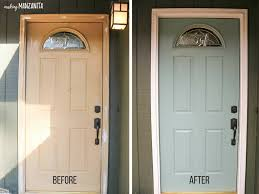 painting your front door the easy way the diy village choosing front door paint colors how to paint a door making