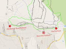 Ojai California Map Riverview Trailhead Scheduled To Close Ovlc Ovlc