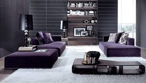 Neutral Sofa Decorating Ideas by How To Match A Purple Sofa To Your Living Room Décor