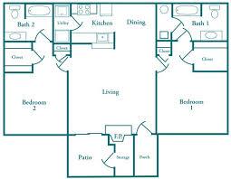 Split Floor Plan by Foxgate Apartments Hattiesburg Ms Apartment Finder