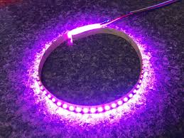 rgb led light strips pink led strip light