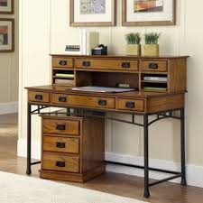 Computer Desk Styles Modern Craftsman Executive Desk By Home Styles Free Shipping