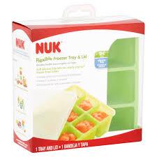 Breastmilk Freezer Storage Container Nuk Flexible Freezer Tray U0026 Lid Walmart Com