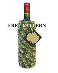 pattern for wine bottle holder crochet pattern for wine bottle holder haakpatroon voor