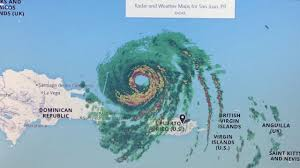 Map Of San Juan Islands Live Radar San Juan Pr Hurricane Irma 185 M P H Winds Cat 5