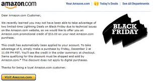 dose amazon have black friday amazon a 5 credit on amazon com check your email