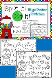 number recognition pages for math centers number number number