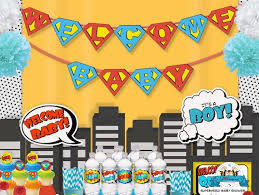 superman baby shower astonishing superman baby shower decorations 77 for baby shower