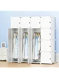 Armoire With Hanging Space Bedroom Armoires Amazon Com