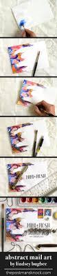 design fã r nã gel three creative envelope design mini tutorials watercolor snail