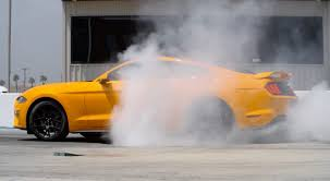 the 2018 ford mustang will make burnouts all too easy slashgear
