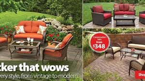 Wicker Patio Chairs Walmart Patio Conversation Sets Walmart Regarding Wicker Patio Furniture