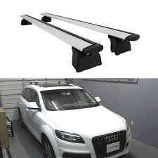 Audi Q5 Kayak Rack - aluminum roof rack cross bar toprail luggage cargo carrier with