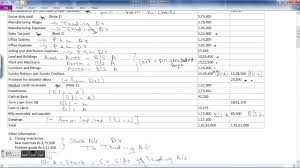 Sample Financial Report Final Accounts Financial Statements Example With Adjustments Of