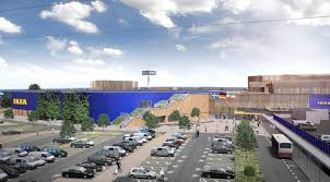 most sustainable new built ikea store in kaarst by henning larsen