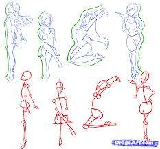 como dibujar la figura femenina taller de dibujo pinterest