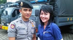 Foto Pacar Bripda Saeful Bahri Polisi Ganteng Twitter