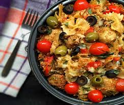italian home style baked pasta recipe with cheese u0026 bread crumbs
