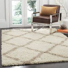 amazon com safavieh dallas shag collection sgd257b ivory and amazon com safavieh dallas shag collection sgd257b ivory and beige area rug 8 feet by 10 feet 8 x 10 kitchen dining