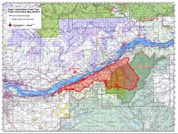 wildfire in oregon grows to 10 000 acres wate 6 on your