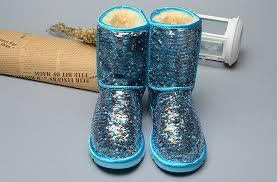 womens ugg australia grey josette boots sparkles 1002978 boots blue