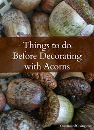 acorn vase filler things to do before decorating with acorns yards decorating and